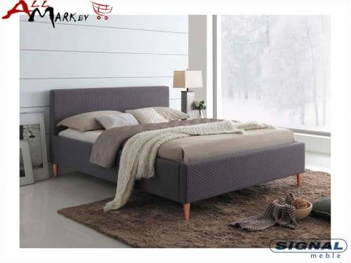 Двуспальная кровать Signal Seul ткань 3D