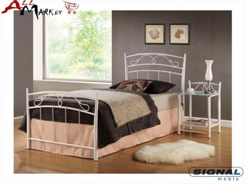 Односпальная металлическая кровать Signal Siena 90