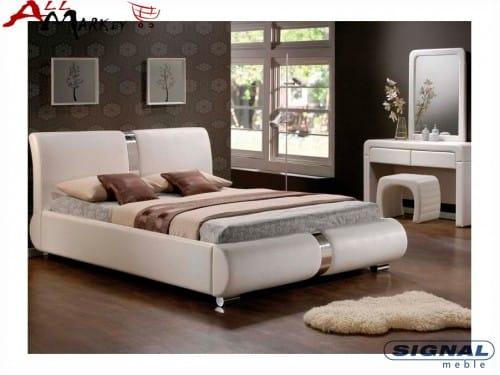 Двуспальная кровать Signal Tokyo из экокожи