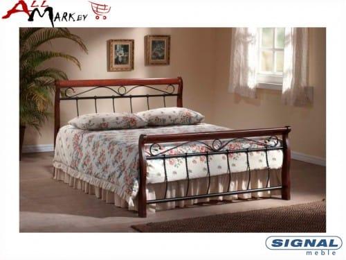Двуспальная металлическая кровать Signal Venecja bis 160