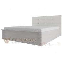 Кровать SV-мебель Гамма 20 140x200 с мягким изголоаьем ясень анкор светлый / сандал светлый