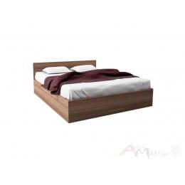 Кровать SV-мебель Вега ВМ-15 160x200 ясень шимо темный