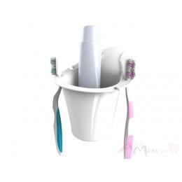 Держатель для зубных щеток Bama White portaspazzolini белый