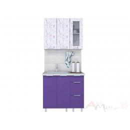 Кухня Интерлиния АРТ Мила 09, фиолетовый