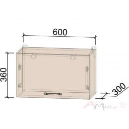 Шкаф под вытяжку Интерлиния Мила Крафт ВШГ60-360