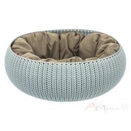 Лежанка Curver Knit Cozy Pet Bed голубой