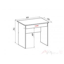 Компьютерный стол Мебель-Класс Форум, сосна карелия