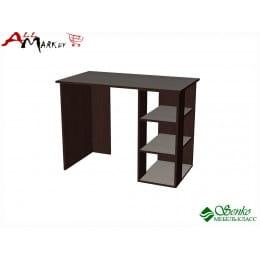 Компьютерный стол Мебель-Класс Имидж-1, венге / дуб шамони