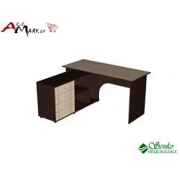 Компьютерный стол Мебель-Класс Мэдисон-1, венге / дуб шамони