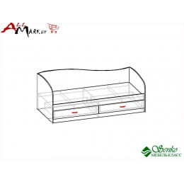 Кровать Мебель-Класс Лагуна-2, сосна карелия