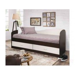 Кровать Мебель-Класс Лагуна-2, венге / дуб шамони