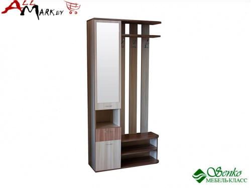 Шкаф для прихожей Беркли Мебель-Класс, , ясень шимо светлый / ясень шимо темный
