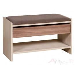 Скамья Мебель-Класс ВА-012.10, ясень темный / ясень светлый