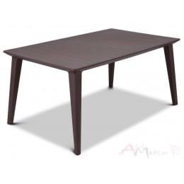 Стол Keter Lima table , коричневый