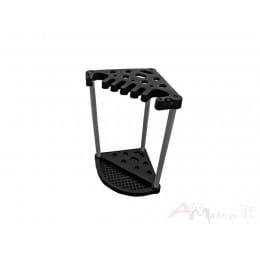 Угловая подставка для инвентаря Keter Corner Tool Rack черный
