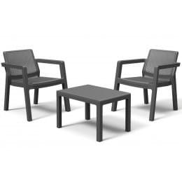 Комплект мебели Keter Emily Balcony Set (графит)