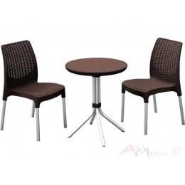 Комплект мебели Keter Chelsea Set коричневый