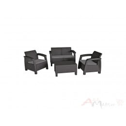 Комплект мебели Keter Bahamas Set графит