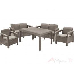 Комплект мебели Keter Corfu Fiesta капучино