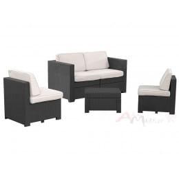 Комплект мебели Keter Modus Set 6 в 1 графит