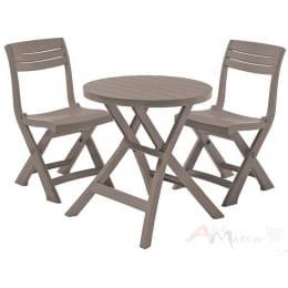 Комплект мебели Keter Jazz set капучино