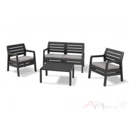 Комплект мебели Keter Delano Set (графит)