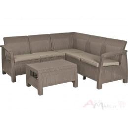 Комплект мебели Allibert Corfu Relax Set капучино