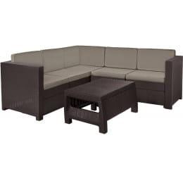 Комплект мебели Keter Provence Set (коричневый)