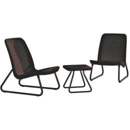 Комплект мебели Keter Rio Patio set коричневый