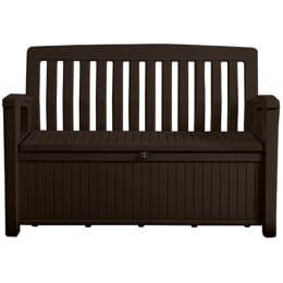 Скамья-сундук Keter Patio Storage Bench, коричневый