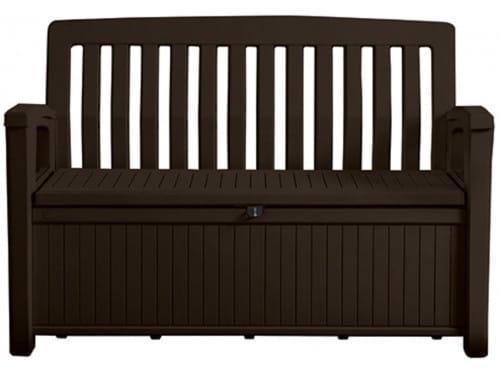 Скамья-сундук Patio Storage Bench 227л, коричневый