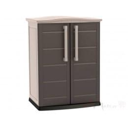 Шкаф уличный Keter Boston base compact низкий (капучино)