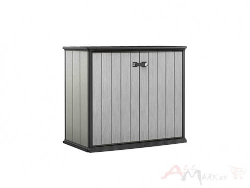Шкаф Keter Patio Store серый