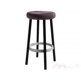 Стул барный Keter Cozy Bar Stool фиолетовый