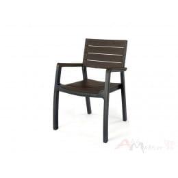Стул Keter Harmony Armchair (серый / коричневый)