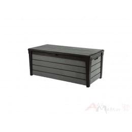 Сундук пластиковый Keter Brushwood 120 Deck Box серый / графит