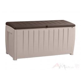 Сундук пластиковый Keter Novel Storage Box (серый)