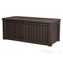 Сундук пластиковый Keter Rockwood Deck Box (коричневый)