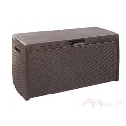 Сундук пластиковый Keter Rattan-Resin Storage Box (коричневый)