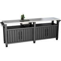 Столик для гриля Keter Unity Chef 415l (графит)