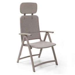 Кресло складное Nardi Acquamarina, капучино