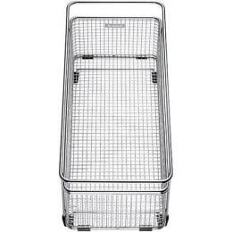 Корзина для посуды Blanco 223297 с держателем нерж. сталь 360х160 мм