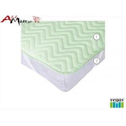 Наматрасник Vegas Cotton S4 90x190-200