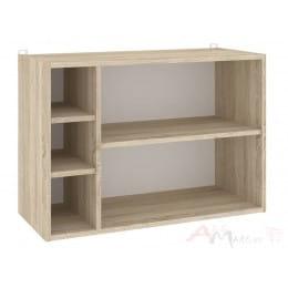 Полка для книг Кортекс-мебель КМ 25, дуб сонома