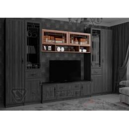 Полка SV-мебель Вега ВМ-21 ясень шимо темный