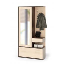 Прихожая Сокол-мебель ВШ-6 венге / беленый дуб