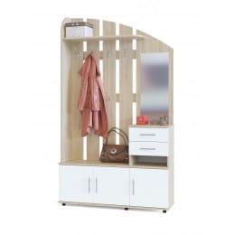 Прихожая Сокол-мебель ВШ-2.2 дуб сонома / белый