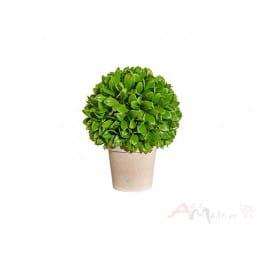 Растение Gasper Blattbusch 28 см искусственное в горшке, зеленый