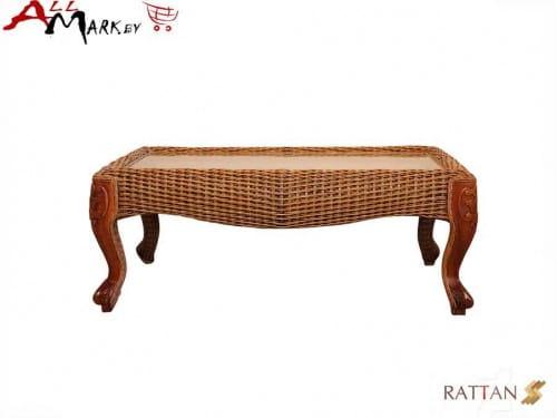 Кофейный столик Bonjar из натурального ротанга