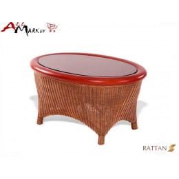 Кофейный столик Flores Cv Marnos Rattan
